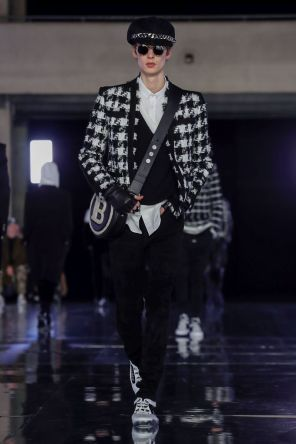 Balmain Homme Menswear Fall Winter 2019 Paris97