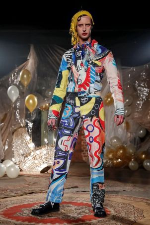Charles Jeffrey LOVERBOY Fall Winter 2019 London13