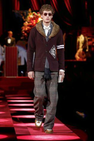 Dolce & Gabbana Menswear Fall Winter 2019 Milan106