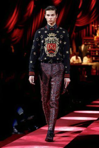 Dolce & Gabbana Menswear Fall Winter 2019 Milan112