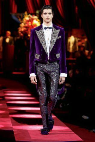 Dolce & Gabbana Menswear Fall Winter 2019 Milan116