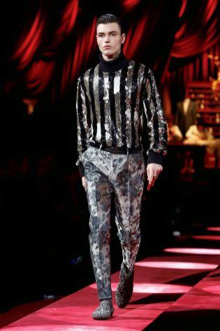 Dolce & Gabbana Menswear Fall Winter 2019 Milan127