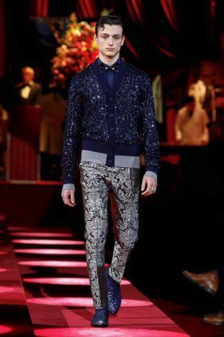 Dolce & Gabbana Menswear Fall Winter 2019 Milan128