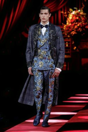 Dolce & Gabbana Menswear Fall Winter 2019 Milan15
