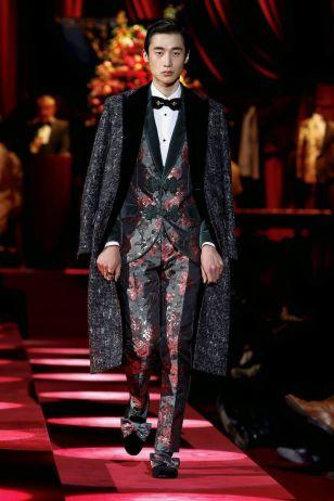 Dolce & Gabbana Menswear Fall Winter 2019 Milan19