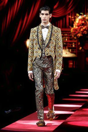 Dolce & Gabbana Menswear Fall Winter 2019 Milan43