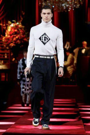 Dolce & Gabbana Menswear Fall Winter 2019 Milan51