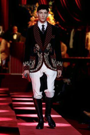 Dolce & Gabbana Menswear Fall Winter 2019 Milan74