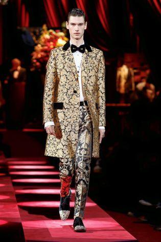 Dolce & Gabbana Menswear Fall Winter 2019 Milan85