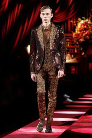 Dolce & Gabbana Menswear Fall Winter 2019 Milan88