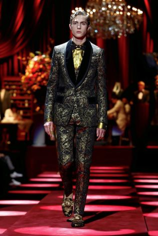 Dolce & Gabbana Menswear Fall Winter 2019 Milan89
