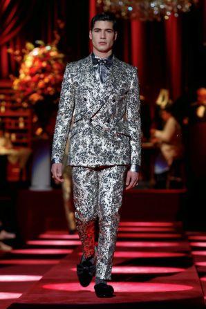 Dolce & Gabbana Menswear Fall Winter 2019 Milan99