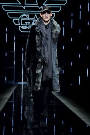 Emporio Armani Menswear Fall Winter 2019 Milan1
