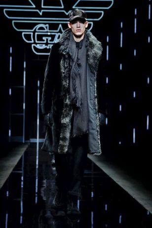 Emporio Armani Menswear Fall Winter 2019 Milan1