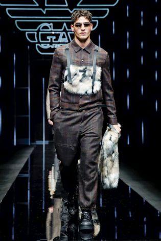 Emporio Armani Menswear Fall Winter 2019 Milan107