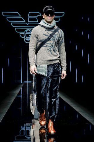 Emporio Armani Menswear Fall Winter 2019 Milan114