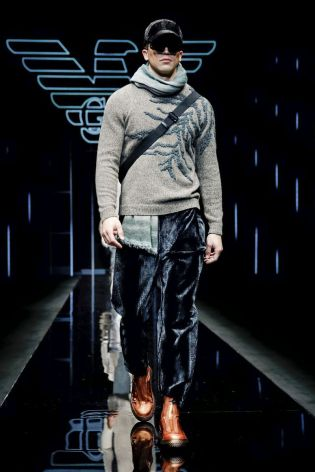 Emporio Armani Menswear Fall Winter 2019 Milan114