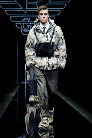 Emporio Armani Menswear Fall Winter 2019 Milan125