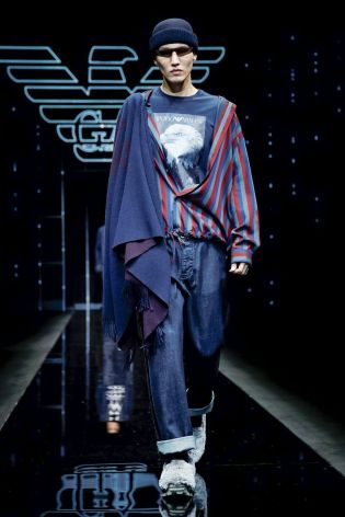 Emporio Armani Menswear Fall Winter 2019 Milan49