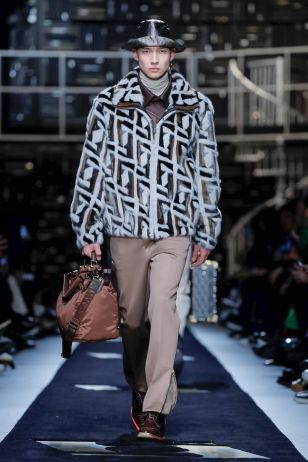 Fendi Menswear Fall Winter 2019 Milan13
