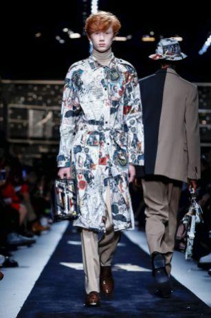 Fendi Menswear Fall Winter 2019 Milan22