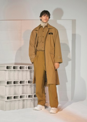 Maison Kitsuné men's fall 2019