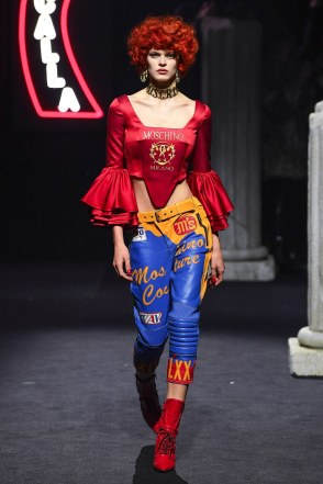 Moschino Menswear Fall Winter 2019 Rome2