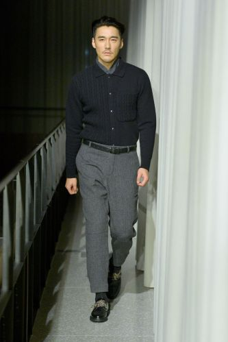 Oliver Spencer Menswear Fall Winter 2019 London25