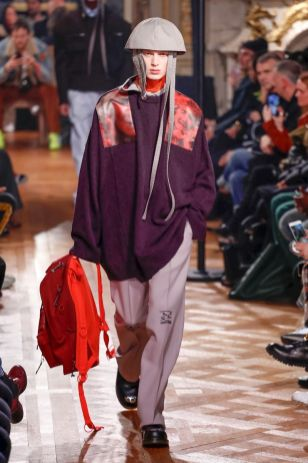Raf Simons Menswear Fall Winter 2019 Paris37