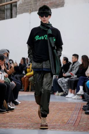 Sacai Menswear Fall Winter 2019 Paris19