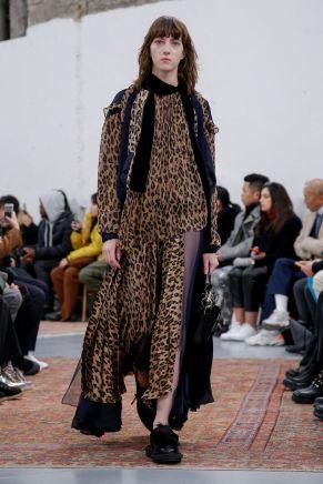 Sacai Menswear Fall Winter 2019 Paris25