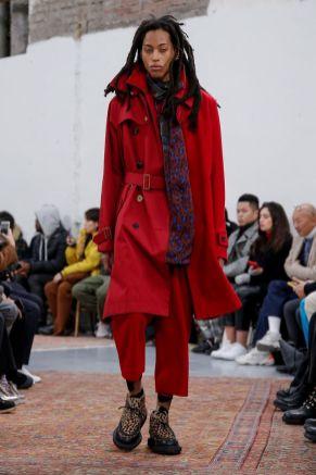 Sacai Menswear Fall Winter 2019 Paris30