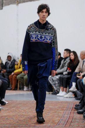 Sacai Menswear Fall Winter 2019 Paris34