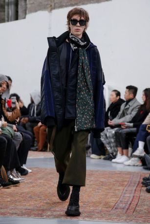 Sacai Menswear Fall Winter 2019 Paris42