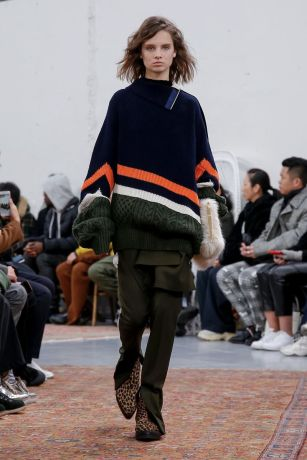 Sacai Menswear Fall Winter 2019 Paris43