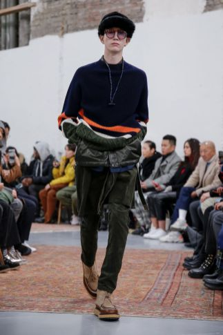 Sacai Menswear Fall Winter 2019 Paris46