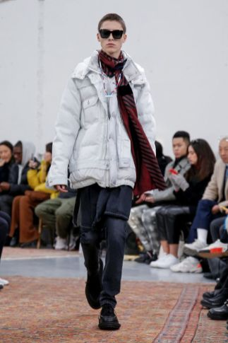 Sacai Menswear Fall Winter 2019 Paris57
