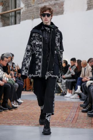 Sacai Menswear Fall Winter 2019 Paris62