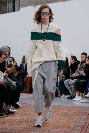 Sacai Menswear Fall Winter 2019 Paris7