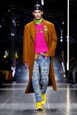 Versace Menswear Fall Winter 2019 Milan21
