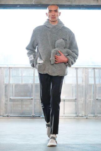 Xander Zhou Fall Winter 2019 London41
