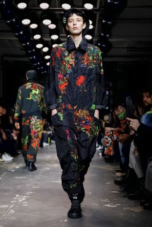 Y-3 Men & Women Fall Winter 2019 Paris39