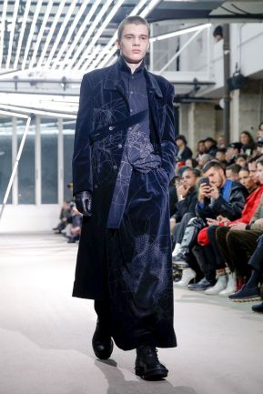 Yohji Yamamoto Menswear Fall Winter 2019 Paris13