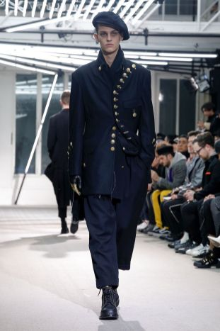 Yohji Yamamoto Menswear Fall Winter 2019 Paris27