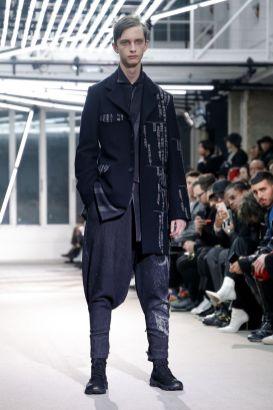 Yohji Yamamoto Menswear Fall Winter 2019 Paris7
