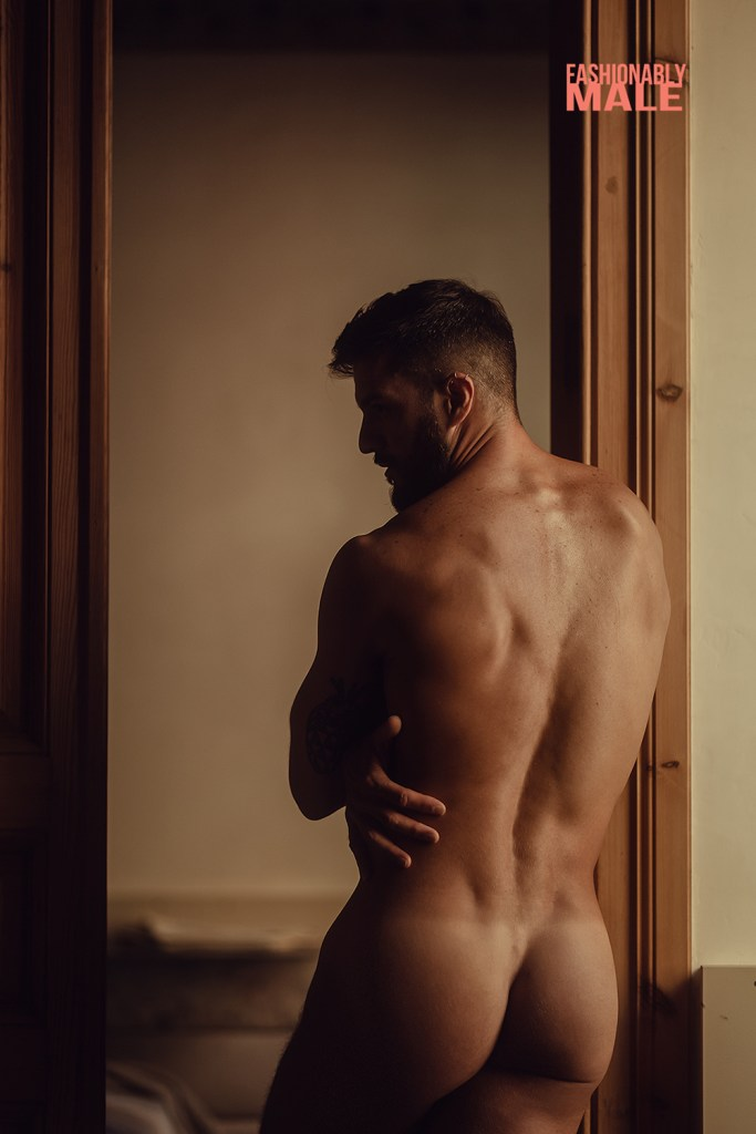 Naked Spanish male model