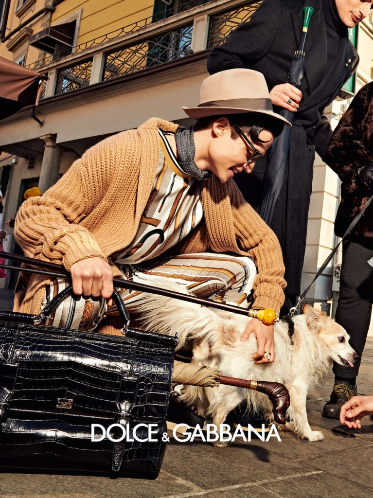 Models in Dolce&Gabbana Fall/Winter 2019-20 Campaign