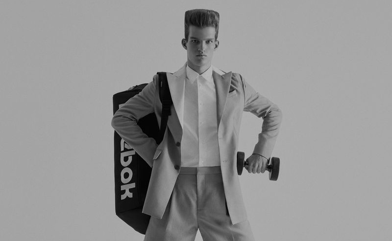 """Jim at Gym"" work by Jumbo Tsui for WSJ Magazine Cover"