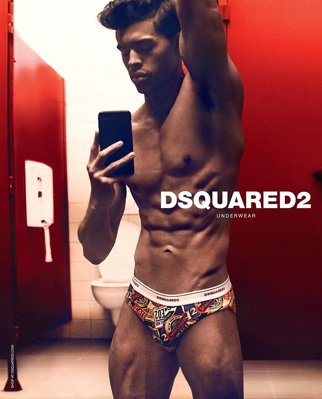 Devin Truss for #D2Flex Underwear Campaign