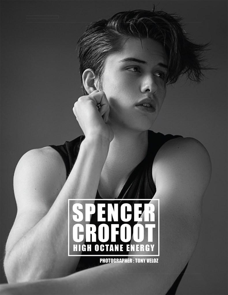 Spencer Crofoot by Tony Veloz for PnVFashionablymale Magazine Issue 02